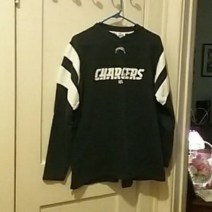 NFL Team Apparel Chargers Sweat Shirt